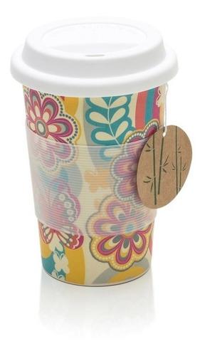 Copo Para Cafe E Bebidas Quentes Em Fibra De Bambu