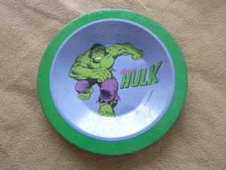 Antiguo Plato Metal Meister De El Increible Hulk 1977 Brazil