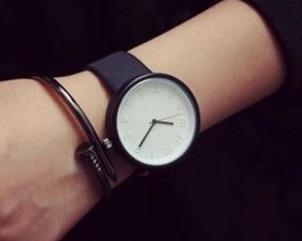 Relógio De Luxo Feminino Analógico Fundo Branco Resistente A