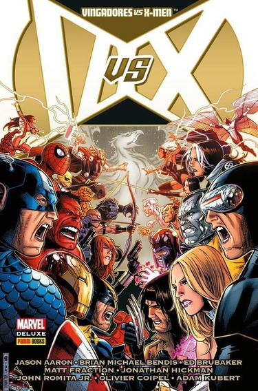 Vingadores Vs X-men - Marvel Deluxe - Marvel