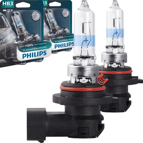 Imagem 1 de 4 de Kit Lâmpada Philips X-treme Vision Hb3 60w 12v (par)