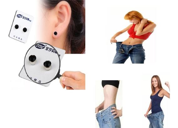 Aretes Magnéticos Para Adelgazar Bajar De Peso Terapia Acupu
