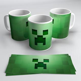 Plantillas Sublimación Taza Minecraft