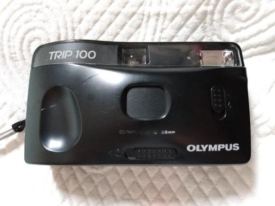 Antiga Máquina Fotográfica Olympus Trip 100 Não Funciona