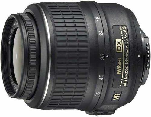 Lente Objetiva Nikon Af-s Dx 18-55mm 1:3.5-5.6g Vr