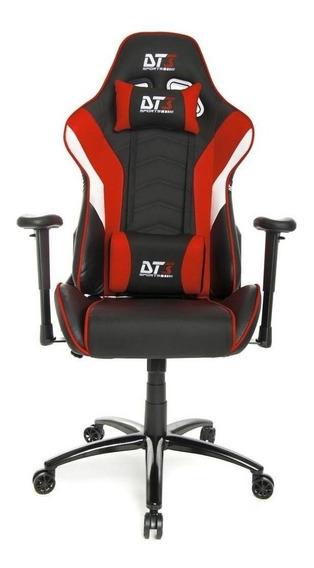 Cadeira de escritório DT3sports Elise jogador ergonômica black/red