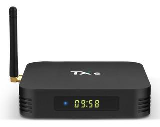 Tv Box - Tx6 *4gb Ram/ 64gb Rom/ 4k/ Hdr/ Bt 4.0/ Android 9*