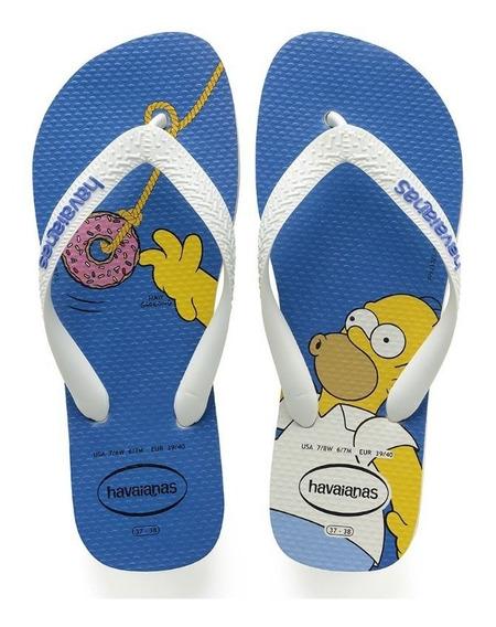 Havaianas Simpsons Branco/branco