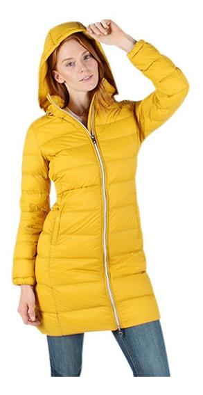Chamarra Mujer Greenlander Pol6815 Invierno Desmontable