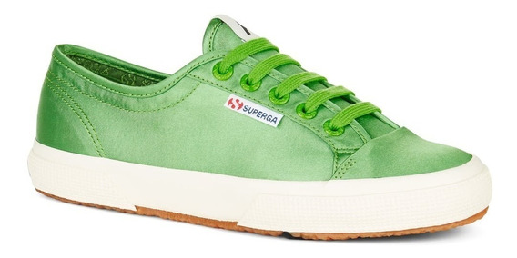 Zapatillas Superga 2492 - Satin Green Fern - Alexa Chung