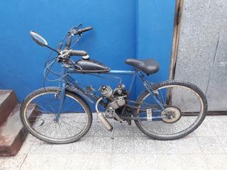 Bicicleta A Motor Funcionando