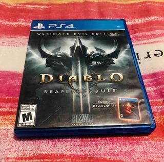 Diablo Ps4 Ultimate Evil Edition Incluye Diablo 3