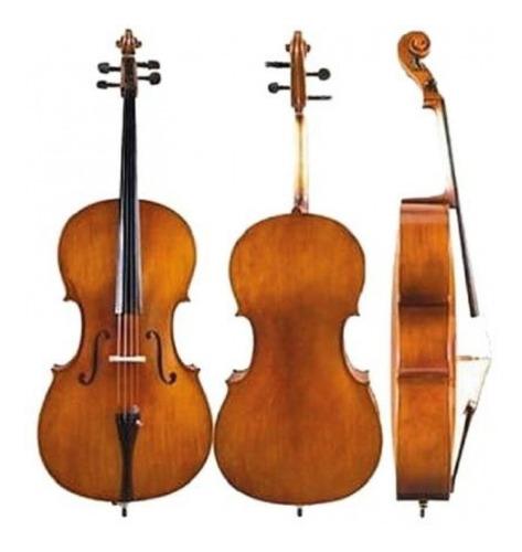 Imagen 1 de 6 de Cello Violonchelo Custom 3/4 Parquer+funda+arco Ce950