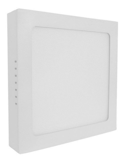Painel Led De Sobrepor 36w Luz Neutra Quadrado Bivolt Save Energy