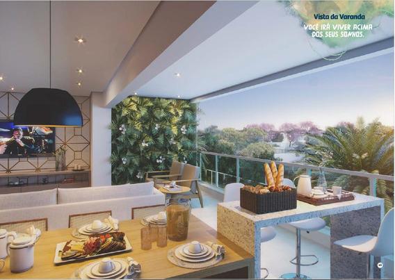 Apartamento De 3 Suítes Plenas, 105m2, 2 Vagas, Park Lozande