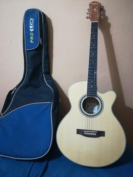 Guitarra Electroacústica Eq Fishman Afinador Digital. Funda
