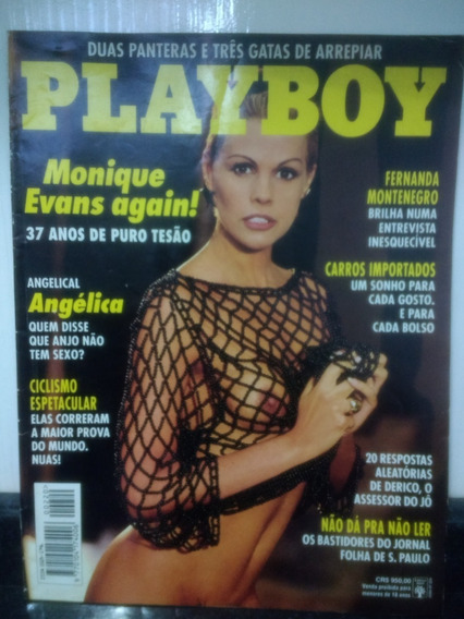 Revista Playboy 220 Monique Evans Fernanda Montenegro Rjhm