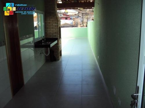 Imagem 1 de 15 de Cobertura Nova Com Churrasqueira E 2 Vagas - 921