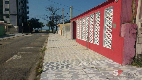 Imagem 1 de 5 de Casa Para Venda Por R$320.000,00 - Solemar, Praia Grande / Sp - Bdi18469