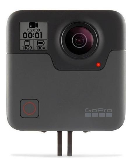 Câmera De Ação Gopro Fusion 18mp 5.2k Captura De 360º