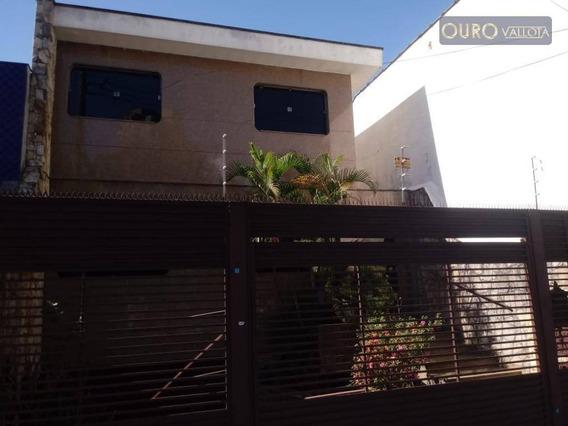 Sobrado Com 7 Dormitórios Para Alugar, 348 M² Por R$ 6.500/mês - Mooca - Sc 190801 E - So0612