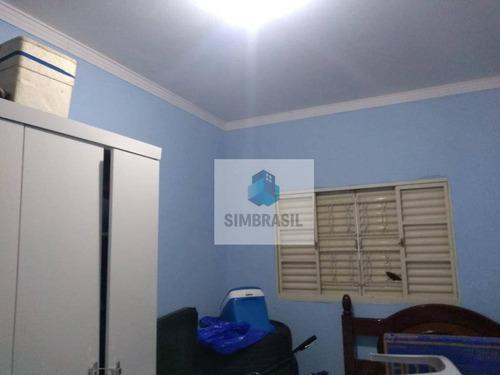 Imagem 1 de 18 de Casa Com 3 Dormitórios À Venda, 120 M² Por R$ 280.000 - Cidade Satélite Íris - Campinas/sp - Ca1458