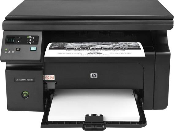 Impressora Multifuncional Hp M1132 Revisada Com Toner