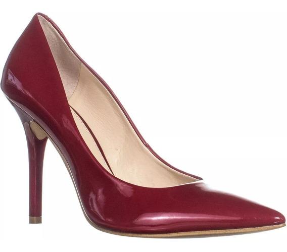 Zapatillas Guess Plasmas2 Charol Dark Red Mujer No. Nl8913