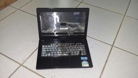 Carcaça Completa Notebook Asus X451c Com Dobradiças