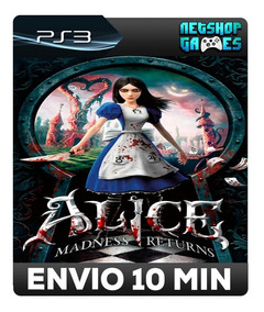 Alice: Madness Returns - Psn Ps3 - Promoção - Pronta Entrega
