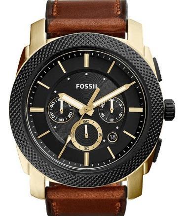 Relógio Fossil Masculino Machine Fs5322/2pn