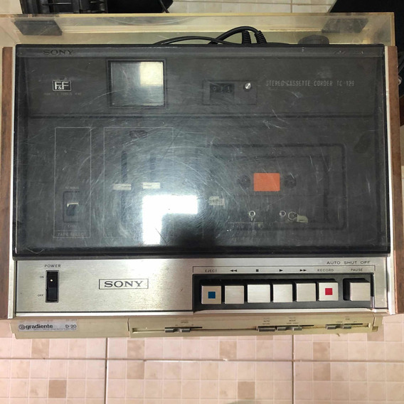 Tape Deck Sony Tc-129