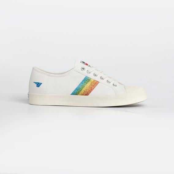 Zapatillas Gola Mujer - Coaster Rainbow Glitter