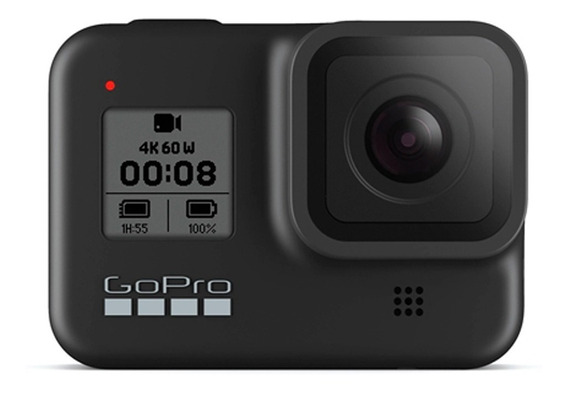 Câmera Digital Gopro Hero8 Black Micro Sd 32gb + Bundle Kit