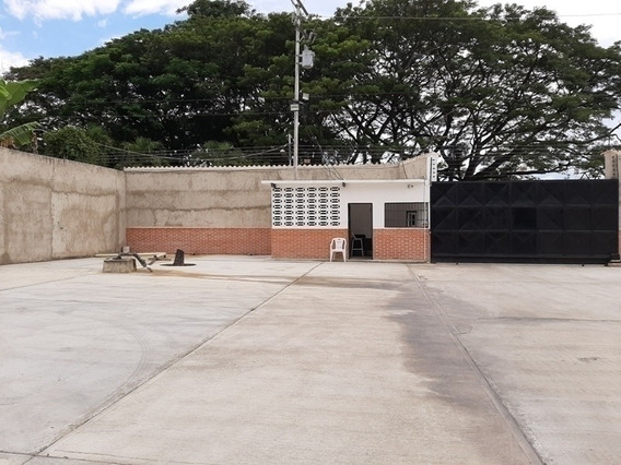 Venta De Galpon Y Fabrica De Hielo Terreno Propio San Joaqui