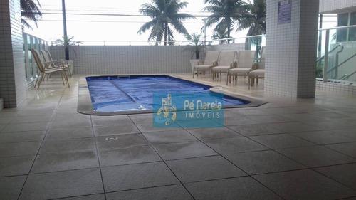 Imagem 1 de 1 de Apartamento Com 2 Dormitórios À Venda, 172 M² Por R$ 500.000,00 - Aviação - Praia Grande/sp - Ap0365