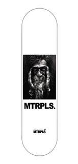 Mtrpls - Doroteo- Tabla Skate Patineta (8.12) Incluye Lija