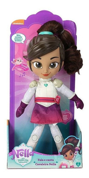 Boneca Princesa Nella Fala E Canta 4691 Dtc