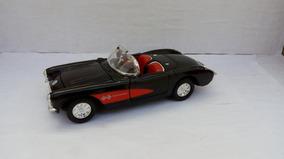 1957 Corvette - Preto - Loose ( Ler A Descriçao Com Atenção)