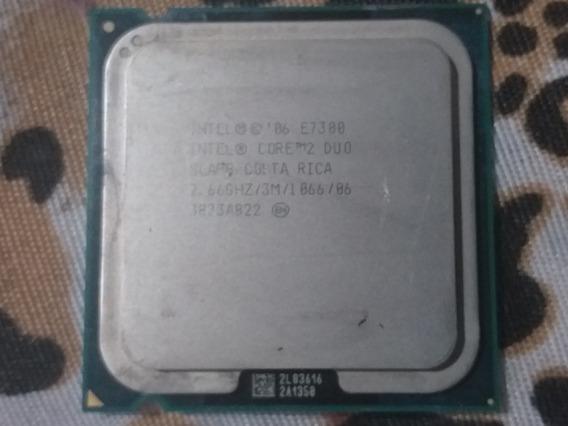 Processador Intel 2 Duo 2.66 E7300