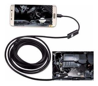 Sonda Camera Inspecao Boroscopio Celular Android Pc Usb 1.5m