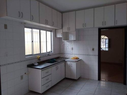 Casa Com 2 Dormitórios À Venda, 125 M² Por R$ 460.000,00 - Vila Linda - Santo André/sp - Ca3192