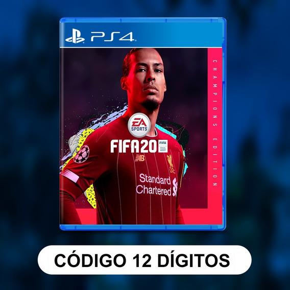 Fifa 20 Edição Dos Campeões Ps4 Código 12 Digitos