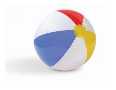 Pelota Inflable Multicolor Ideal Para Alberca