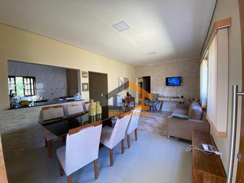 Chácara Com 3 Dormitórios À Venda, 1040 M² Por R$ 550.000,00 - Sítio Da Moenda - Itatiba/sp - Ch0142