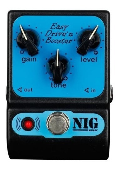 Pedal Nig Easy Drive And Booster Ped Com Nota Fiscal