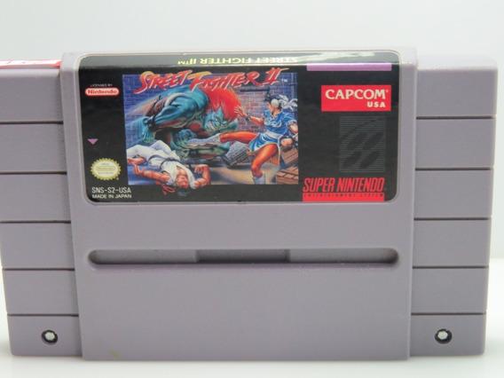 Cd 287 Street Fighter 2 Snes Original Super Nintendo Usado
