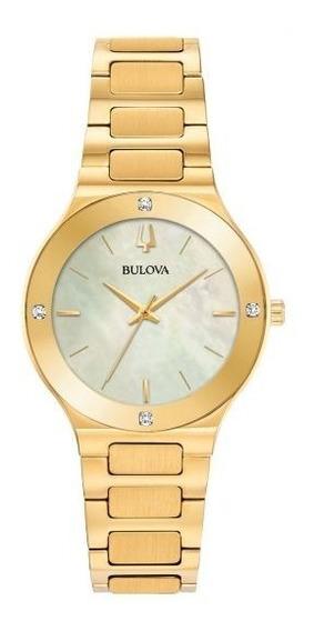 Reloj Bulova Millenia Diamonds 97r102 Original Dama E-watch