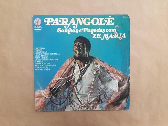 Lp Parangole Sambas E Pagodes Com Zé Maria 1975 Soma Estereo