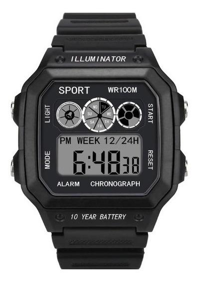 Relógio Masculino Esportivo Digital